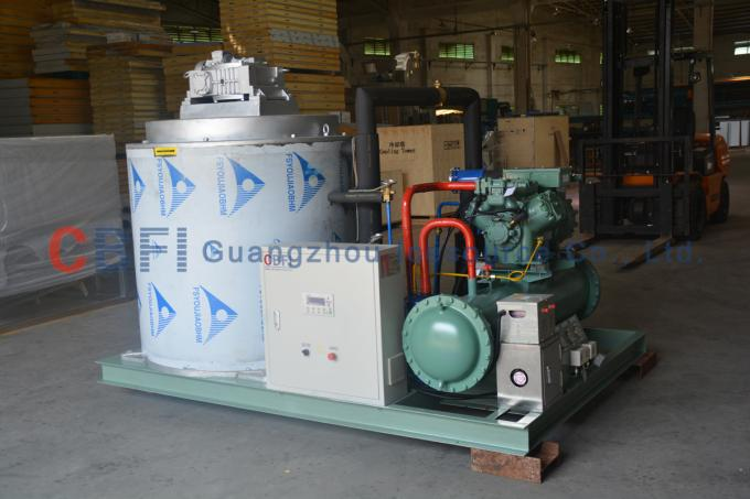 R22 Refrigerant Fresh Water Flake Ice Maker Machine with Germany Bitzer Compressor