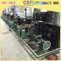 Cina Easy Operation Low Temperature Chiller / Air Cooled Chiller For Ice Making Machine pabrik