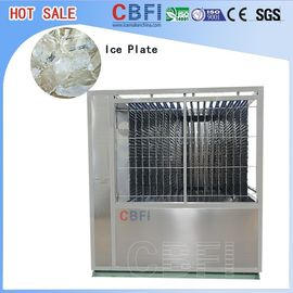 Cina 5000kg Capacity Plate Ice Machine , Automatic Ice Machine High Production pabrik