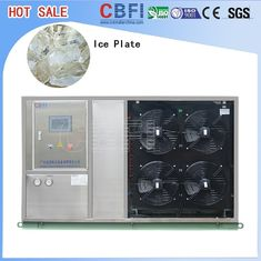 Cina Fast Food Shops Plate Ice Making Machine , Household Ice Machine Easy Operation pabrik