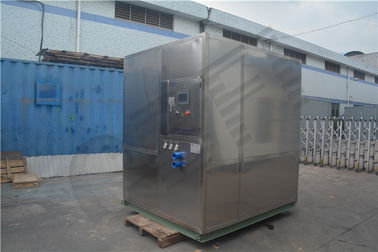 Cina Freezing Seafood Meat Plate Ice Machine / Commercial Ice Makers High Output pabrik