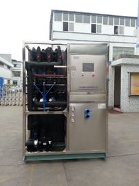 Cina R22 / R404a Refrigerant Industrial Ice Maker Machine , Air Cooled Ice Maker pabrik