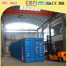 Cina Second Hand Freezer Shipping Containers Cold Room For Fruits , Meat , Ice Storage pabrik