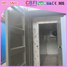 Cina Prefabricated Insulated Cold Storage Containers / 40 Feet Cold Room Containers pabrik