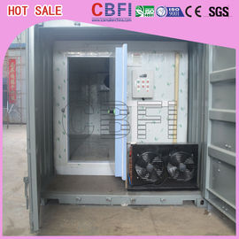 Cina Stainless Steel Panels Container Cold Room American Copeland Scroll Compressor pabrik
