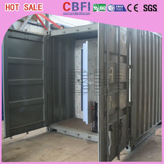 Cina Movable / Strong Cold Storage Containers Outside Cold Room Without Shed pabrik