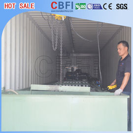 Cina 5 Kg 10 Kg 15 Kg 20 Kg 25kg Industrial Ice Block Making Machine For Cold Drink Shops pabrik