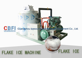 Cina Touch Screen Flake Ice Maker with German Bitzer Compressor / Water Cooling Condenser pabrik