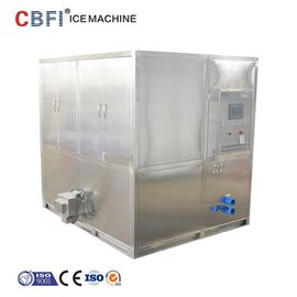 Cina Water Cooled 2 Tons Square Cube Ice Maker for Food Grade Plant pabrik