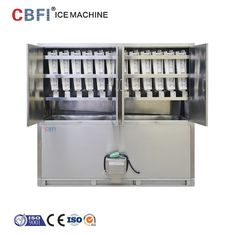 Cina ETC 3 Tons Commercial Ice Cube Machine / Stand Alone Ice Maker pabrik