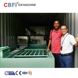Cina Commercial Containerized Block Ice Machine Big Containerized Block Ice Plant pabrik