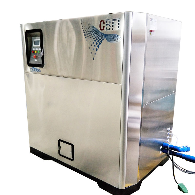 CBFI Commercial Use 2 Ton Per 24 Hours Crispy Nugget Ice Maker Machine pemasok