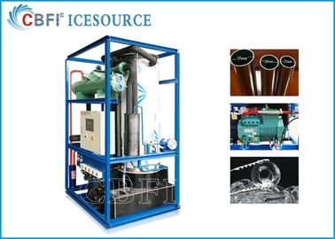 CBFI Inductrial 3 Ton Ice Tube Machine Air Cooling Dengan Bitzer Compressor