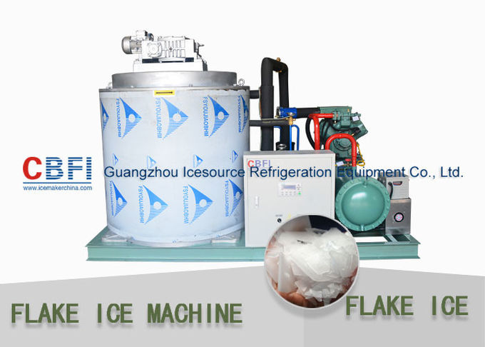 Dressing Plant Irregular Shape Flake Ice Making Machine 500kg - 30000kg